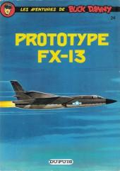 Buck Danny -24c83- Prototype FX-13