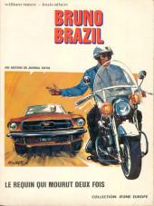 Bruno Brazil -1- Le requin qui mourut deux fois
