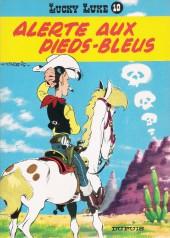 Lucky Luke -10b86- Alerte aux Pieds-Bleus