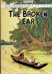Tintin (The Adventures of) -6f08- The broken ear