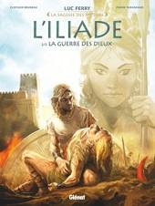 L'iliade (Taranzano/Bruneau) -2- La Guerre des Dieux