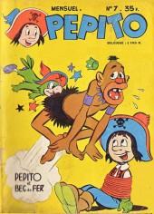 Pepito (1re Série - SAGE) -7- Pepito et Bec de Fer