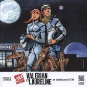 Valérian -Cat- Valérian et Laureline en mission pour la cité