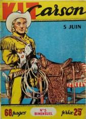 Kit Carson -5- Kit Carson et l'affaire du chemin de fer