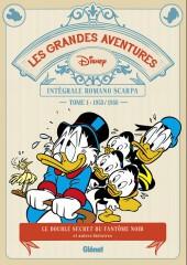 Les grandes aventures Disney de Romano Scarpa -1- Le double secret du fantôme noir et autres histoires (1953-1956)