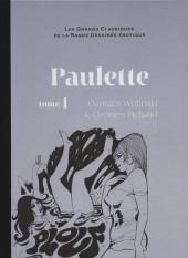 Les grands Classiques de la Bande Dessinée érotique - La Collection -3857- Paulette - Tome 1