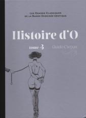 Les grands Classiques de la Bande Dessinée érotique - La Collection -3923- Histoire d'O - Tome 3