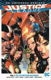 Justice League (2016) -INT01- The extinction machines