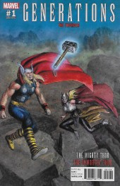 Generations: The Unworthy Thor and The Mighty Thor (2017) -1B- The Thunder