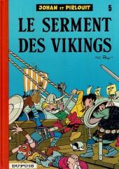 Johan et Pirlouit -6f82- Le serment des vikings