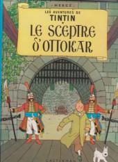 Tintin (Historique) -8C3bis- Le sceptre d'Ottokar