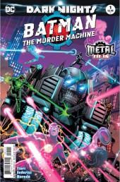 Batman: The Murder Machine (2017) -1- Heavy Metal