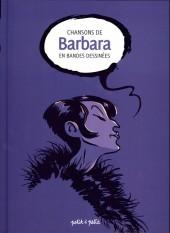 Chansons en Bandes Dessinées  -a17- Chansons de barbara en bandes dessinées