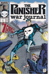 Punisher War Journal Vol.1 (Marvel comics - 1988) -1- An Eye for an Eye Chapter One Sunday in the Park