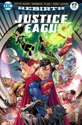 Justice League Rebirth (DC Presse) -5- Tome 5