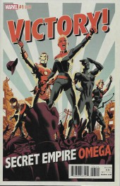 Secret Empire Omega (2017) -1A- Issue #1