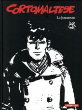 Corto Maltese (Noir et blanc relié) -9- La Jeunesse