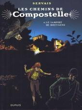 Les chemins de Compostelle -4TT- Le vampire de Bretagne