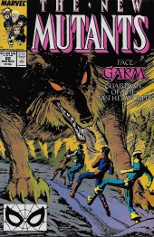 New Mutants (The) (1983) -82- The Road to Hel...