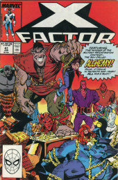 X-Factor (Marvel comics - 1986) -41- Golden Boy!