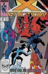 X-Factor (Marvel comics - 1986) -43- Kidnaped!