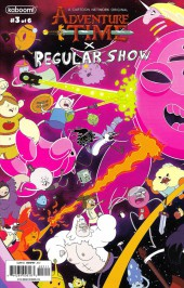 Adventure Time x Regular Show -3A- Adventure Time x Regular Show Part 3 Of 6
