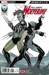 All-New Wolverine (2016) -25- Orphans Of X Part 1