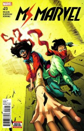 Ms. Marvel (2016) -23- Northeast Corridor Part One
