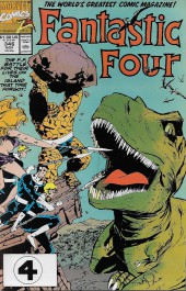Fantastic Four (1961) -346- 70 Million Years BC...and then Some!