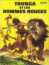 Tounga (Cartonné) -2- Et les hommes-rouges