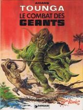 Tounga (Cartonné) -6- Le combat des géants