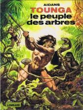 Tounga (Cartonné) -10- Le peuple des arbres