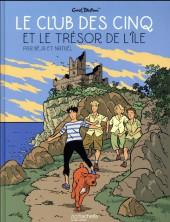 Le club des cinq (Nataël/Béja) -1- Le club des cinq et le trésor de l'île