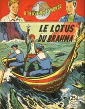 À travers le monde (2e série) -82- Le Lotus du Brahma
