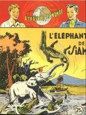 À travers le monde (2e série) -99- L'Éléphant de Siam