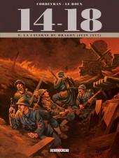 14-18 (Corbeyran/Le Roux) -8- La Caverne du dragon