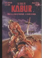 Kabur (Hexagon Comics) -10- La tour de Volodyane - La colère de Kimera