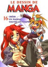 (DOC) Le Dessin de Manga -16- Créer un manga: toutes les étapes