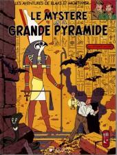Blake et Mortimer (Les Aventures de) -4a1987- Le Mystère de la Grande Pyramide - Tome 1