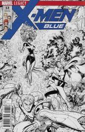 X-Men: Blue (2017) -13VC2- Mojo Worldwide: Part 2