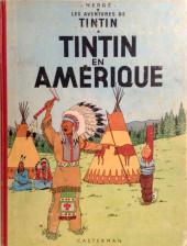 Tintin (Historique) -3B26- Tintin en Amérique
