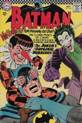 Batman Vol.1 (DC Comics - 1940) -186- The Joker's Original Robberies!
