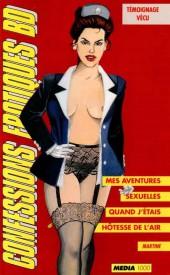 Confessions érotiques BD (Média 1000) -85- Martine : Mes aventures sexuelles quand j'étais hôtesse de l'air