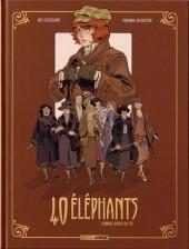 40 éléphants -1- Florrie, doigts de fée
