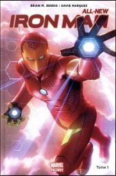 Couverture de All-New Iron Man -1- Reboot