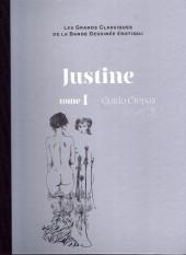 Les grands Classiques de la Bande Dessinée érotique - La Collection -4064- Justine - Tome 1