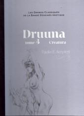 Les grands Classiques de la Bande Dessinée érotique - La Collection -4140- Druuna - Tome 3