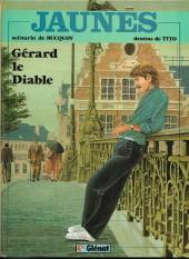 Jaunes -2a82- Gérard le diable