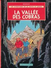 Jo, Zette et Jocko (Les Aventures de) -5b37- La vallée des cobras