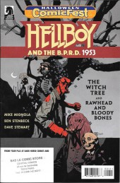Hellboy and the B.P.R.D. -HCF 2017- 1953 - The Witch Tree + Rawhead and Bloody Bones - Halloween ComicFest 2017